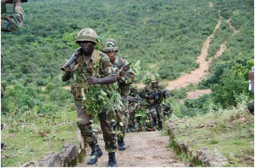Nigerian military destroyed 10 Boko Haram camps