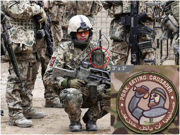 Crusader culture alive in the US military