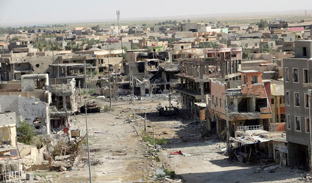 Thousands of homes destroyed in Iraq's Ramadi