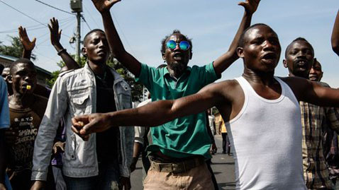 EU says embassy in Burundi came under fire