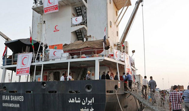 Yemen-bound Iranian ship may go to Djibouti for inspection