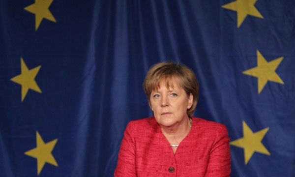 German chancellor calls UN inaction on Syria 'disgrace'