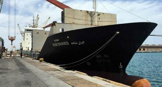 Iran's Yemen bound-aid ship docks in Djibouti