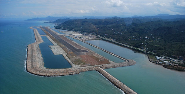 Turkey to open first airport on artificial island