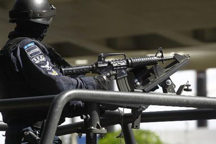 Gunfight in western Mexico kills at least 39