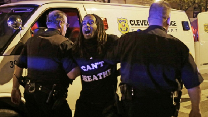 Cleveland police: 71 people arrested overnight in protests