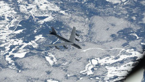 About 100 U.S., European jets join Arctic exercise near Russia
