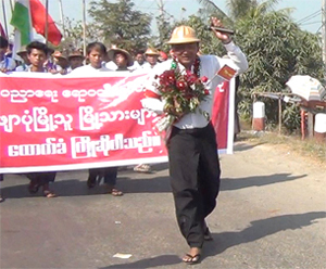 Myanmar court sentences lecturer over student protests