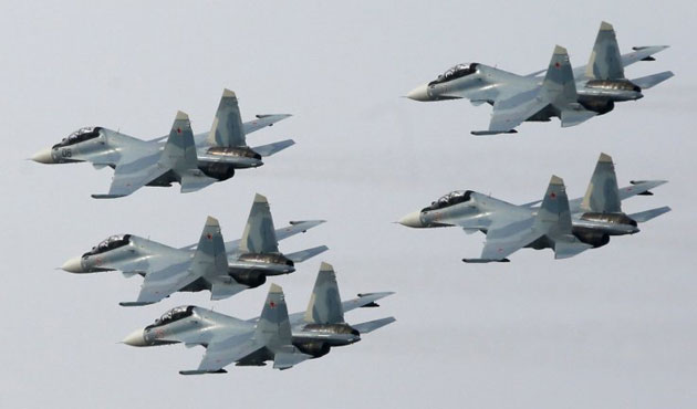 Russia launches large-scale air defence drills