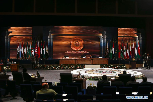 Arab forces ready 'to intervene anywhere'