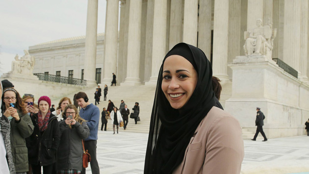 Muslim woman wins against Abercrombie & Fitch