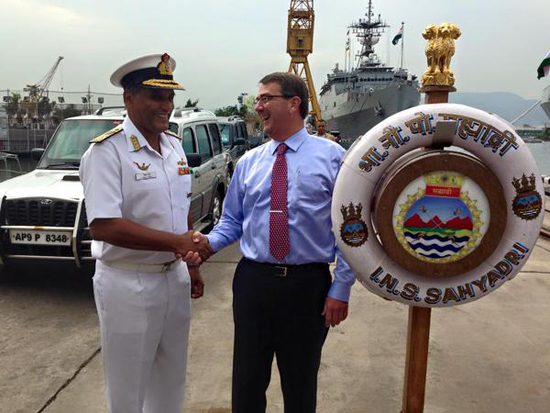 US India seal major military projects