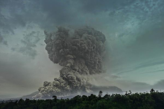 Sumatra, Indonesia on highest volcano alert