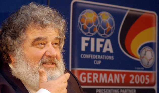 ex-FIFA official Blazer admits to taking bribes