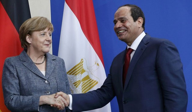 Germany supports Sisi, gets €8 billion