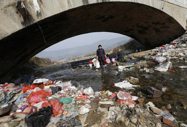 60% of China's underground water 'not fit for humans'