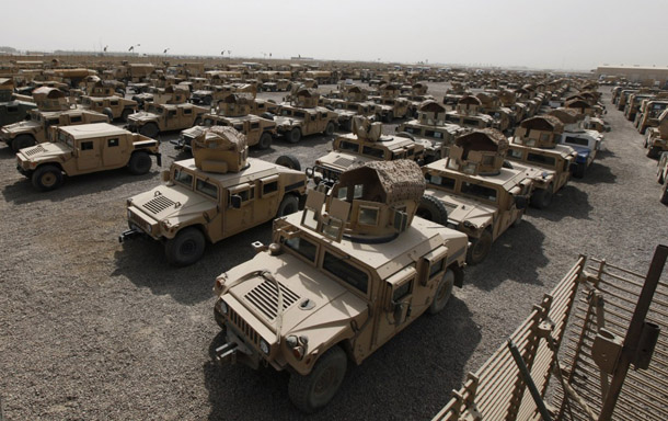 Iraq 'lost' $1bn worth of Humvees to ISIL