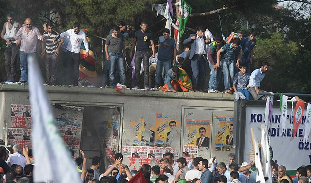 Suspect detained over HDP rally bomb