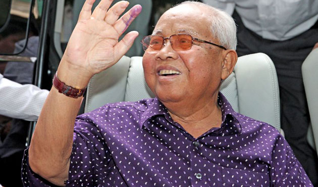 Cambodian ruling party leader Chea Sim died at 82