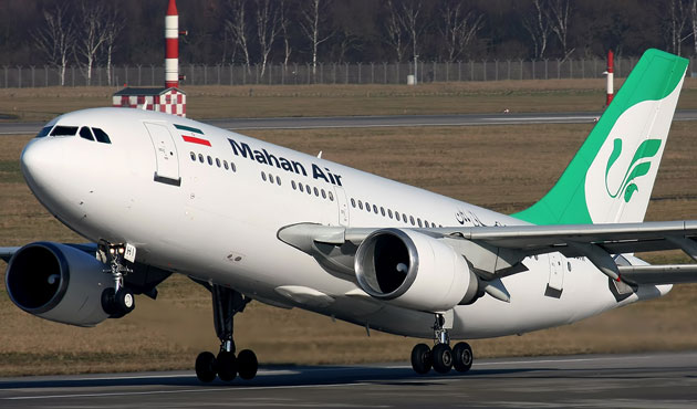 Iran to take legal action if U.S. stops Mahan Air planes