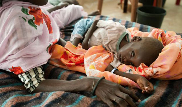 Hundreds of thousands face starvation in S. Sudan