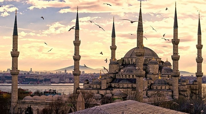 Istanbul's Blue Mosque, 398 years today