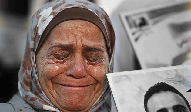 Grief of Palestinian mothers