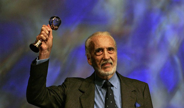 Horror star Christopher Lee dies at age 93