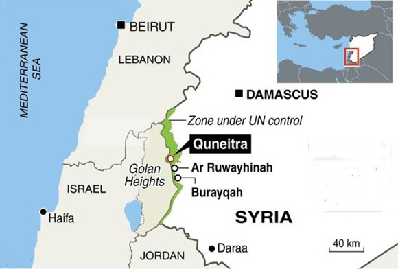 Syrian opposition advance to southern Syria
