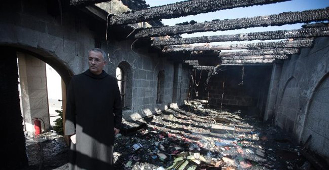 Jewish extremists torch Sea of Galilee church