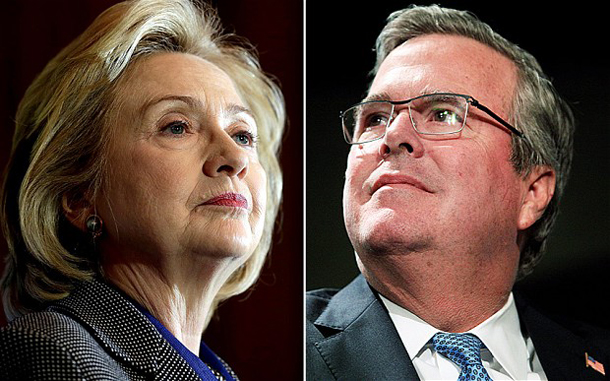 Bush vs Clinton dynasty face-off in 2016 election