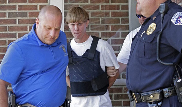Dylann Roof indicts on nine counts of murder
