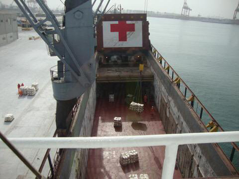 ICRC delivers 1,000 tonnes of food to Yemen