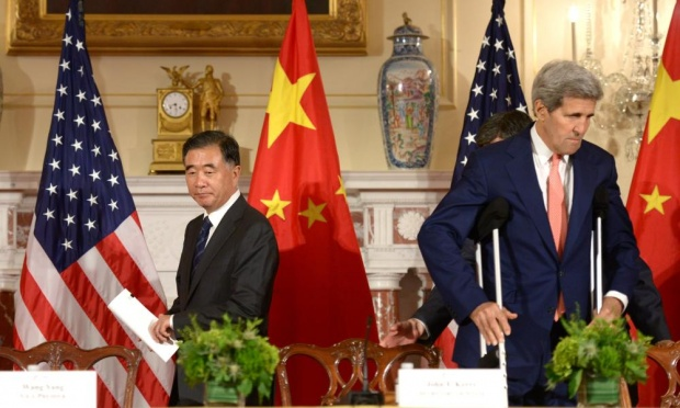 China slams US after attacked US rights record