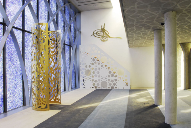 East meets West in modern European mosque architecture