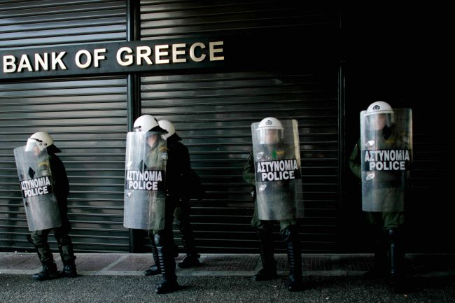 Greek banks have only €1 bln liquidity