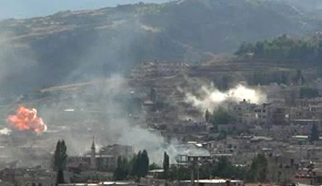 Hezbollah, Syrian army enter strategic city of Zabadani