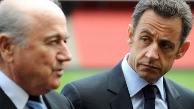 Blatter accuses French, German presidents