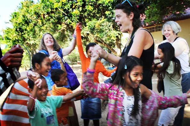 Orphanage tourism in Cambodia worth millions