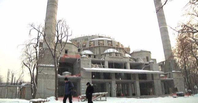 Turkey building Central Asia's largest mosque