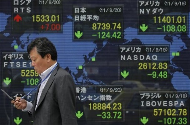 Asian stocks down on Greek bailout debacle