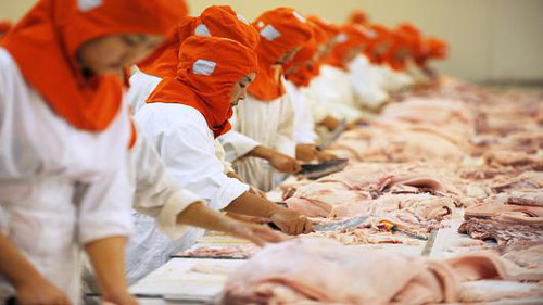 China to track down smuggled rotting meat