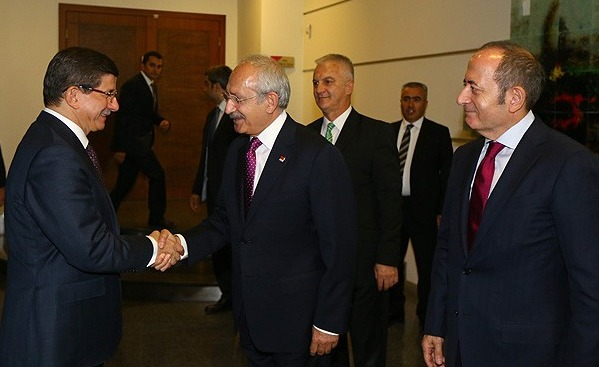 Turkish PM begins first round of coalition talks