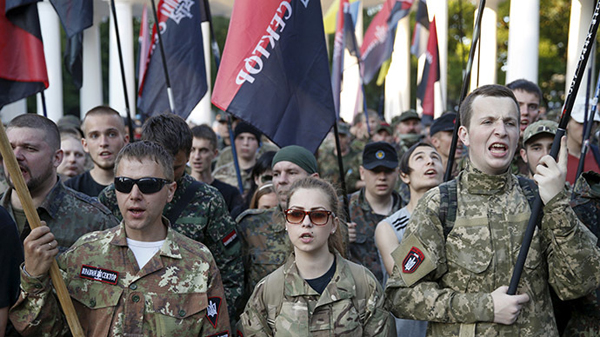 Ukraine Right Sector ready to deploy battalions