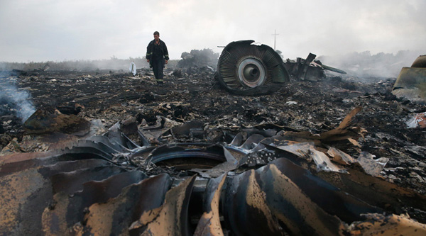 Fresh debris from MH17 found in eastern Ukraine