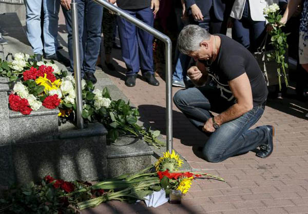 Ukraine points finger at Russia on MH17 anniversary