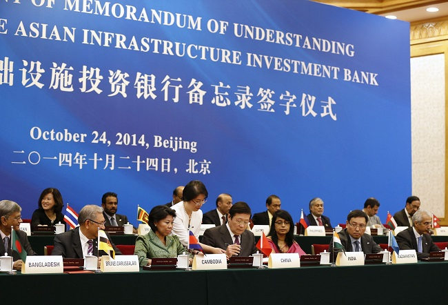 AIIB's launch represents a new fiscal order