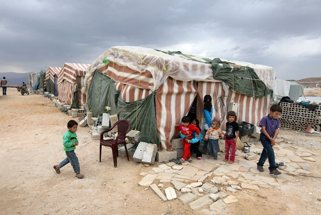 Syrian refugees in Lebanon support 'safe zone' proposal