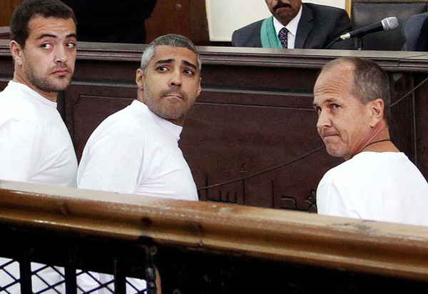 Egypt court postpones verdict in Jazeera reporters' retrial
