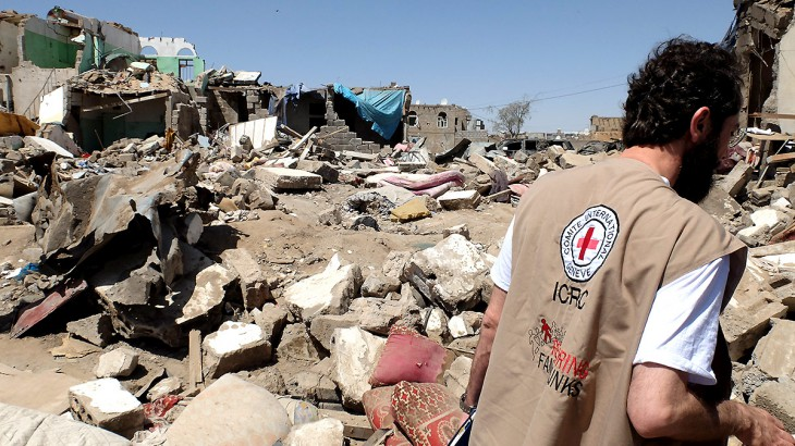 Red Cross chief in Sanaa to assess Yemen conflict cost